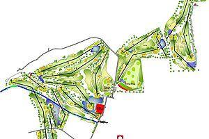 Grundriss Golfclub Zillertal in Uderns