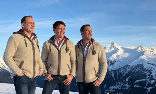 The three Zillertaler Haderlumpen: Peter, Vitus and Reinhard